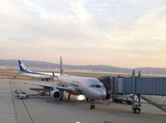 アントニオ小猪木 公式ブログ/大阪の関西国際空港へ 画像1