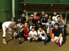 アントニオ小猪木 公式ブログ/仲間たちの草野球へ 画像1