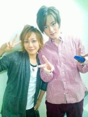 Kimeru 公式ブログ/テニミュ楽屋にて… 画像2