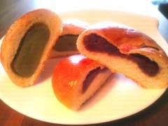 川村綾 公式ブログ/あんパン&抹茶パン 画像3