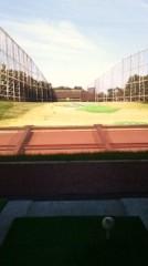 川村綾 公式ブログ/父と練習場へ 画像1