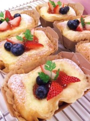 川村綾 公式ブログ/ケーキ??みたいなパン!! 画像1