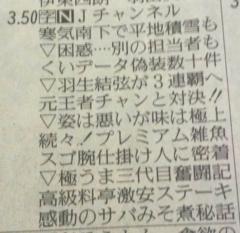 川村綾 公式ブログ/本日のJチャンネル 画像1