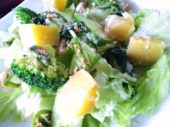 川村綾 公式ブログ/栄養満点サラダ(^u^) 画像1