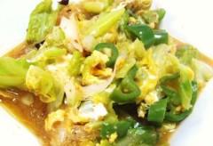 川村綾 公式ブログ/野菜+春雨スープ 画像1