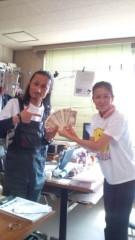 岡本夏生 公式ブログ/明友館に義援金30 万円を手渡しして来ました。 画像1