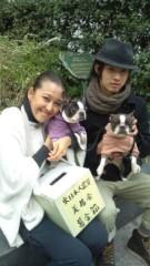 岡本夏生 公式ブログ/表参道で出逢えたワンコです。 画像2