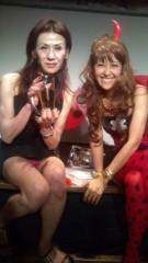 岡本夏生 公式ブログ/912誕生日のイベントに駆けつけてくれたオデヲンさんと…( 爆) 画像3