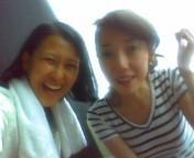 岡本夏生 公式ブログ/みっちゃんと今からプールナウ 画像1