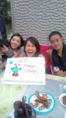 岡本夏生 公式ブログ/祝!45歳お誕生日前夜祭を…44 歳年の差の涼太朗くんと 画像1