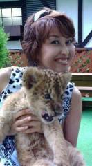 岡本夏生 公式ブログ/40ライオンと残暑お見舞い申し上げます 画像1