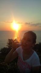 岡本夏生 公式ブログ/メリークリスマスと沖縄の日の出とお水の巻 画像1