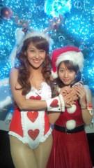 岡本夏生 公式ブログ/六本木ヒルズから見たクリスマスの夜景を大好きなみな実ちゃんと 画像2