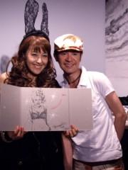 岡本夏生 公式ブログ/記念すべき第10 回の節目の募金活動にグリ友の山咲トオルちゃん 画像1