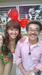 岡本夏生 公式ブログ/ちょっちゅねぇ〜元世界チャンピオンの具志堅用高さんですよ 画像1