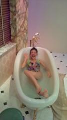 岡本夏生 公式ブログ/感謝状、ぷっすまの浴槽から、こにゃにゃちわ〜の巻 画像1