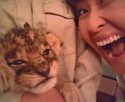 岡本夏生 公式ブログ/40ライオンと残暑お見舞い申し上げます 画像3