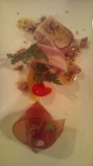岡本夏生 公式ブログ/撮影オールスタッフとスパキュージーヌ料理ナーウ 画像2