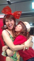 岡本夏生 公式ブログ/サンデージャポン見て欲しいのほしのあきちゃんとハグの巻 画像1