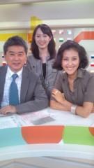 岡本夏生 公式ブログ/NHK解禁!!「ゆうどきネットワーク」に映ったマンボ〜( 嬉しい 画像1