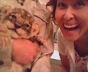 岡本夏生 公式ブログ/40ライオンと残暑お見舞い申し上げます 画像2