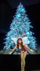岡本夏生 公式ブログ/祝!クリスマスイブの夜に、てぃーンカーベルとお祝いだよ〜 画像2