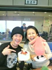 岡本夏生 公式ブログ/6時からFM横浜ラジオだよ!と山咲トオルさんとメリークリスマ 画像1