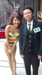 岡本夏生 公式ブログ/ハイレグばばあでございます( 笑)少し息切れしております(爆) 画像2