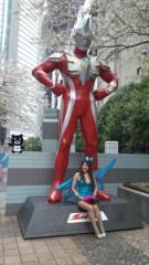 岡本夏生 公式ブログ/ウルトラマンと桜吹雪とオカマと夏生とサンジャポとおしゃれイズ 画像1