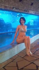 岡本夏生 公式ブログ/ハトヤの海底温泉からビキニで残暑お見舞い申し上げま〜す 画像1
