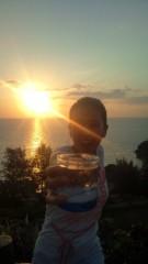 岡本夏生 公式ブログ/メリークリスマスと沖縄の日の出とお水の巻 画像2