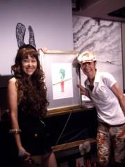 岡本夏生 公式ブログ/記念すべき第10 回の節目の募金活動にグリ友の山咲トオルちゃん 画像2
