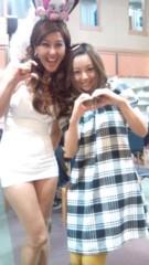 岡本夏生 公式ブログ/幸せ絶頂の夏川純ちゃんとラブ注入〜 画像1