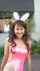 岡本夏生 公式ブログ/うさちゃんのミッフィーとハイレグのお姉さん(爆) 画像1