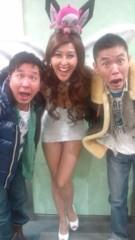 岡本夏生 公式ブログ/2011年1発目は爆笑問題さんとあけおめだっちゅーの 画像1