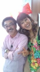 岡本夏生 公式ブログ/ちょっちゅねぇ〜元世界チャンピオンの具志堅用高さんですよ 画像2