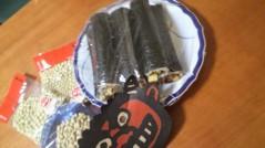 フェアリーズ 公式ブログ/藤田みりあ「おには外〜福は〜内( ´∀`)/~~」 画像2