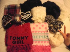フェアリーズ 公式ブログ/下村実生「帽子と マフラーと手袋は強い味方♪」 画像1