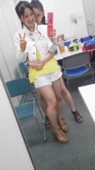 フェアリーズ 公式ブログ/井上理香子「「スノーホワイト」観てきマシタ(^o^ゞ映画館でののもこ(空)との会話」 画像2
