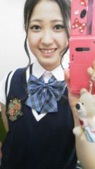 フェアリーズ 公式ブログ/井上理香子「前髪ウィッグ!?「原宿キラキラ学院」新コーナー、中間テスト始まりマシタ」 画像2