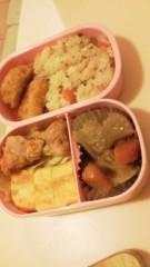 フェアリーズ 公式ブログ/井上理香子「KENZOさんのレッスン集中力(`・ω´・)!!ふるさと思い出すしたらいぃな弁当」 画像2