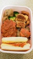 フェアリーズ 公式ブログ/井上理香子「みきみきの分も作った食パン1枚で3つの味!!明日受験頑張ってきマス」 画像3