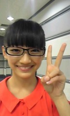 フェアリーズ 公式ブログ/下村実生「メガネ」 画像1