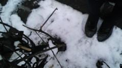 フェアリーズ 公式ブログ/藤田みりあ「犬!?雪だるま!?」 画像2