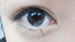 フェアリーズ 公式ブログ/井上理香子「久しぶりに目のクイズを出しちゃってみマシタ(^_^ゞ誰の目かわかる方!!」 画像1