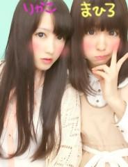フェアリーズ 公式ブログ/井上理香子「久しぶりの更新すみません。まひろとのプリクラをのそてマス(*^^*)」 画像1