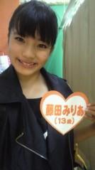 フェアリーズ 公式ブログ/藤田みりあ「ニコ☆プチ撮影♪」 画像1