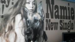 フェアリーズ 公式ブログ/井上理香子「あっっ安室奈美恵さんのバスだかっこいぃ♪みんなパシャパシャパシャり」 画像1