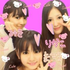 フェアリーズ 公式ブログ/井上理香子「まひろみき」 画像1