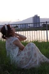 河井夕菜 公式ブログ/お仕事プチ復帰★森ガール風★川辺にて 画像1